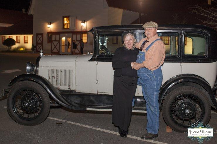 Gary Doub and his 1929 Car